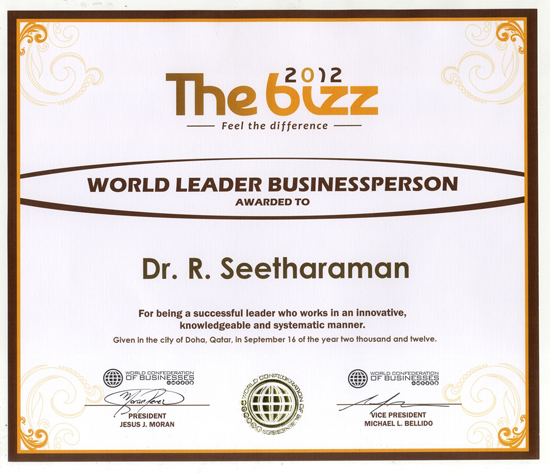 World Leader Business person